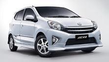 Makassar Car Rental - Toyota Agya